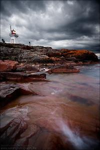 Lake Huron.  Killarney, Ontario.