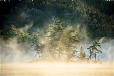 Grace Lake. Killarney Provincial Park. Ontario