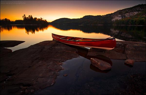 O.S.A. Lake, Killarney Provincial Park Ontario.