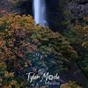 150  G Multnomah Falls and Smoke