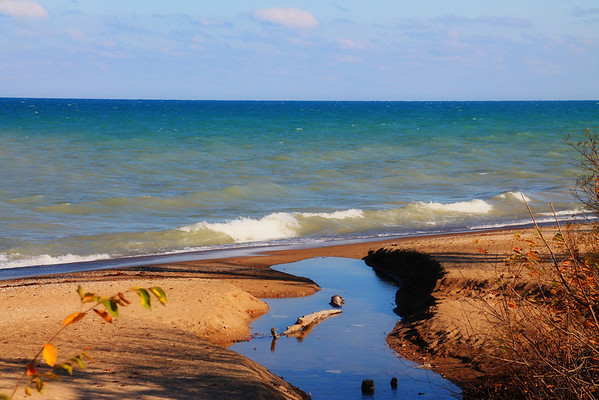 Lake Michigan...Highland Park, IL