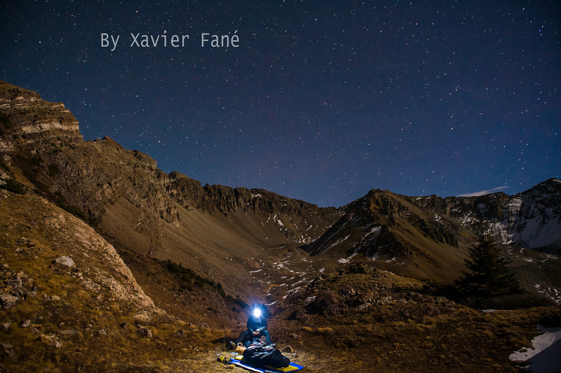 A night out in Pika basin, high above the Upper East River Valley.