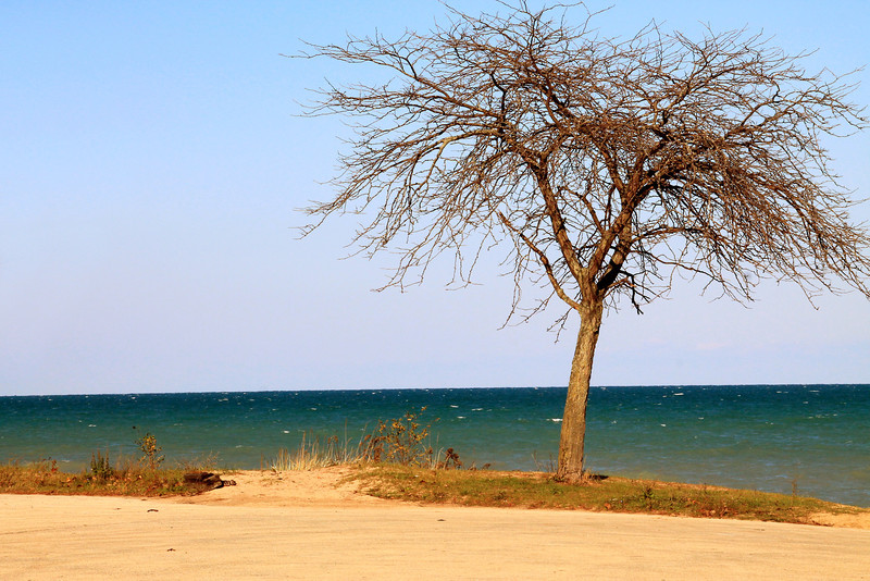 Lake Michigan---Highland Park, IL.