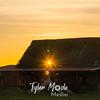 65  G Sun Through Barn