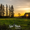 70  G Sun Through Barn Wide