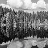 51  G Lake Reflections BW V