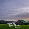 47  G Evening Barn