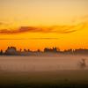 23  G Misty Field Sunset