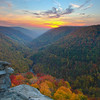 Lindy Point Overlook<br /> Blackwater Falls State Park, WV<br /> (IMG_2122)