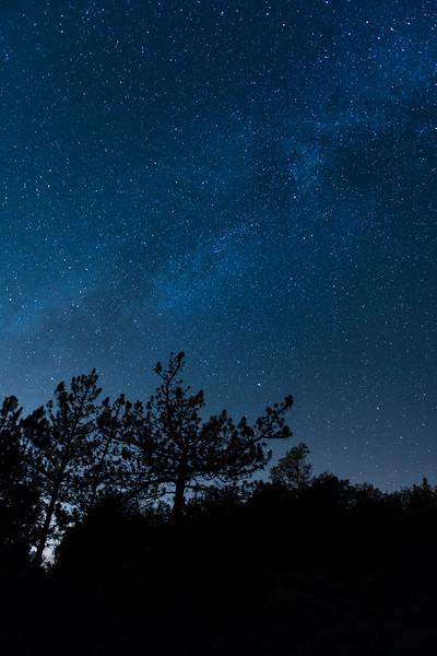 Night sky at Julian, California