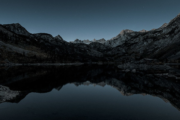 Before Sunrise, Before Boaters, Lake Sabrina