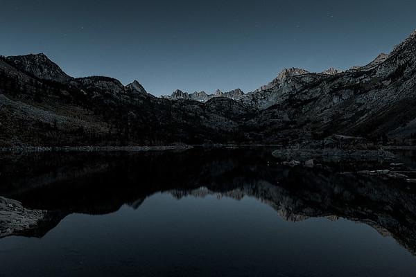 Before Sunrise, Before Boaters, Lake Sabrina
