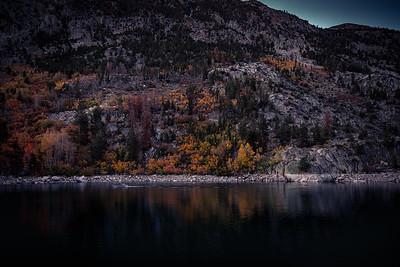 Sunrise Boater, Lake Sabrina