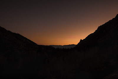 Sunrise, East of Lake Sabrina