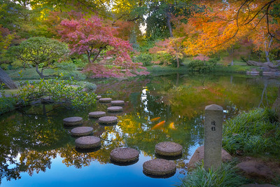 Stayed at Fort Worth, visited Japanese Garden,