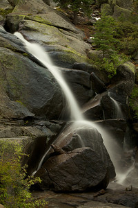 Waterfall on Rock