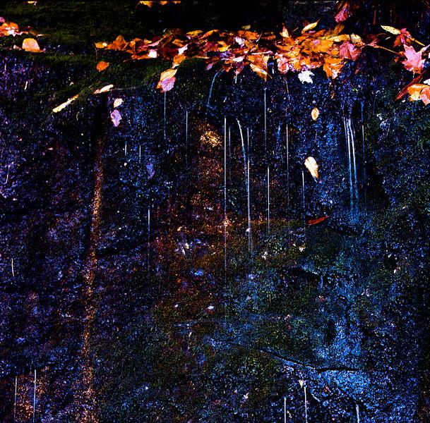 Water on rocks, Mt. Whitesides