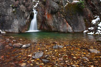 Cat Creek Falls, Kananaskis Alberta