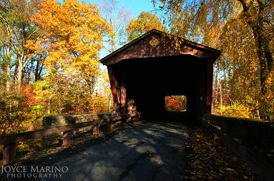 Covered Bridge in Harford County, MD in town of Jerusalem -- DSC_8870