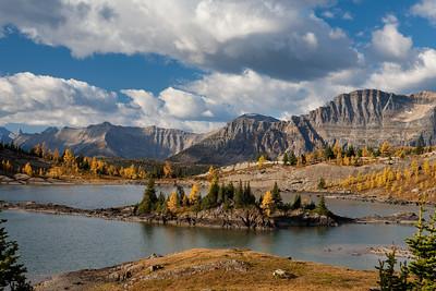 Rock Isle Lake, Sunshine Meadows, Banff National Park