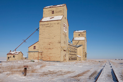 Mossleigh Alberta, December 2008