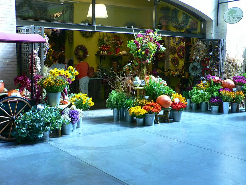 Flower Stall, Ferry Building, San Francisco