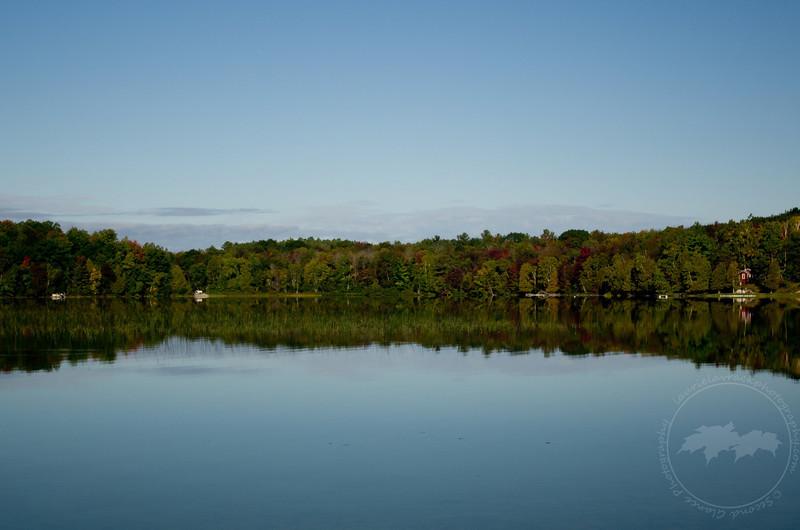 Stillness on Lake Ann