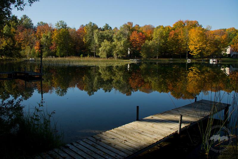 Autumn relection, Lake Ann, MI