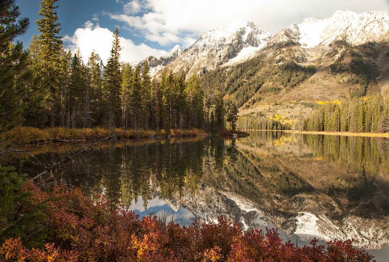 Hike to Leigh Lake