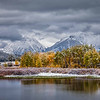 First snow at Oxbow Bend.