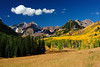 """Autumn Field of Color"" Maroon Bells, CO"