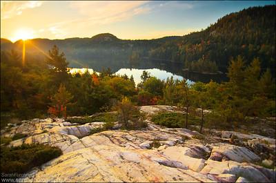 Grace Lake. Killarney Provincial Park