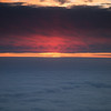 A jaw-dropping sunset at 28,000 ft. between BNA and ORD.