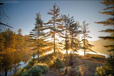 Grace Lake, Killarney Provincial Park. Ontario.