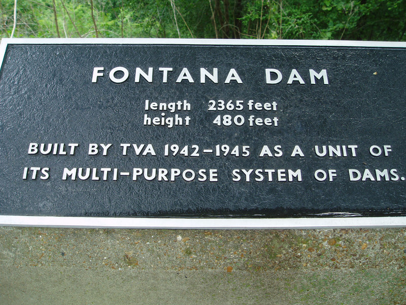 Fontana Dam, Smokey Mountains, 8/06