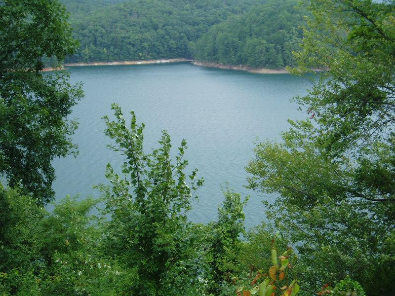 Smokey Mountain view, Fontana Lake 8/06