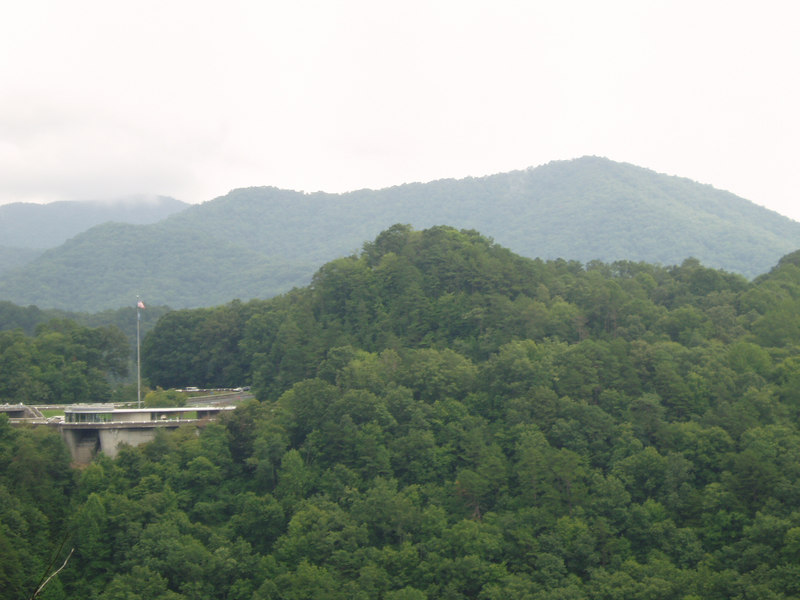 Fontana Dam, Smokey Mountains, 8/06
