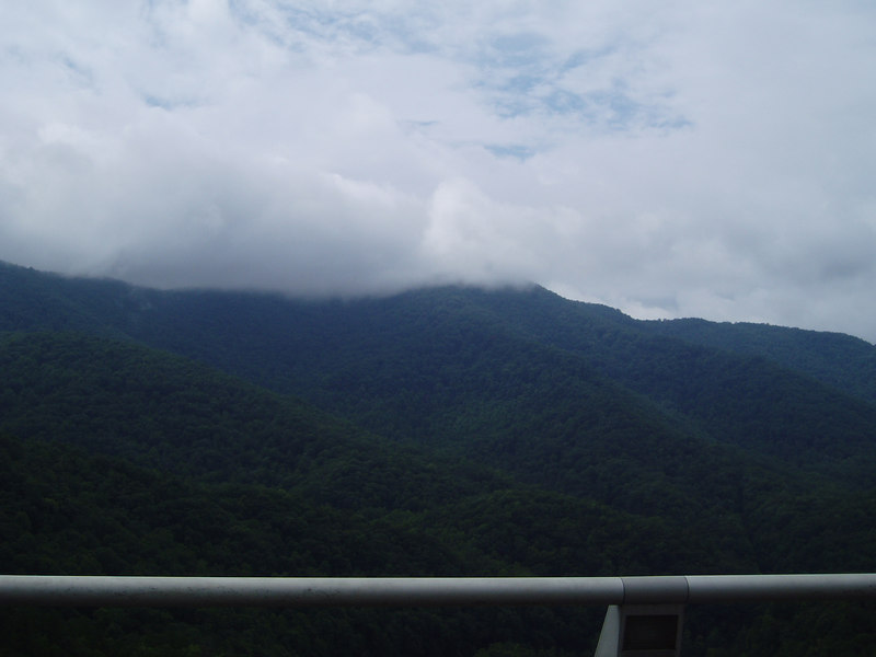 Smokey Mountain view, 8/06