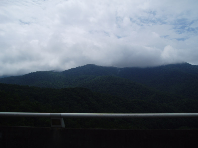 Smokey Mountain view, 8/06