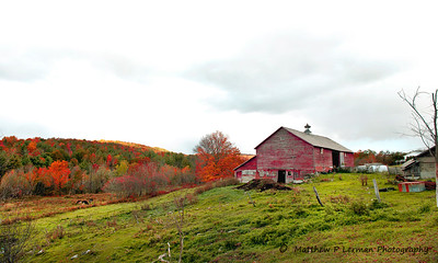 Barn on Danby Mt. Road  #799-b
