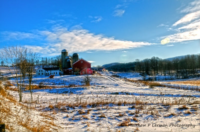 184 Scenic Winter Farm Vermont