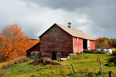 Barn, Danby Mt. Road, Vermont    #799