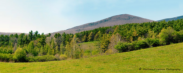 Scenic Vermont Early Spring