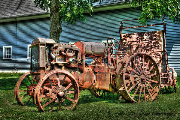 Old tractor in Mettowee Valley, Vermont