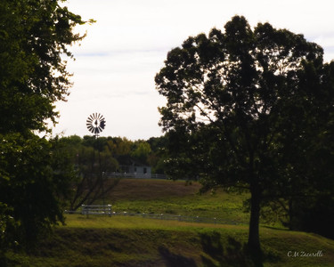 Farm, Landscape, Windmill, Windsor CT, barn, landscape