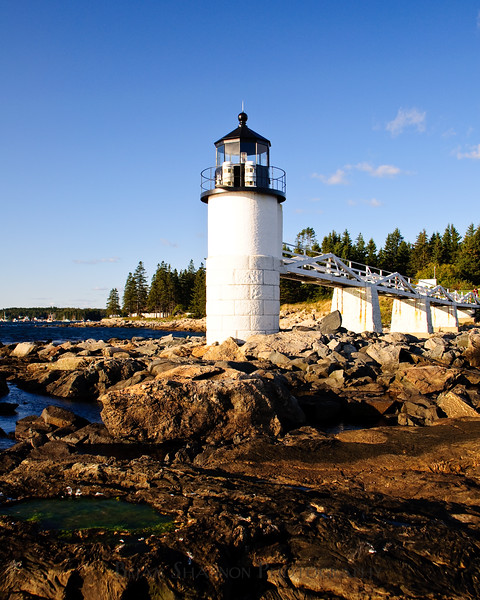 Marshall Point Lighthouse by Brian Shannon