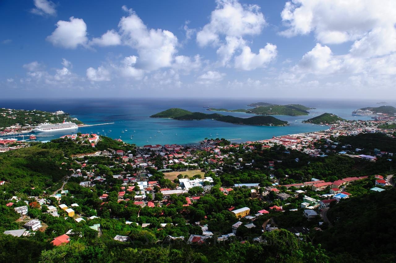 Charlotte Amalie, St. Thomas USVI by Brian Shannon
