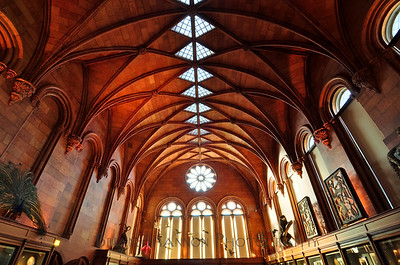 Smithsonian Castle interior by Brian Shannon
