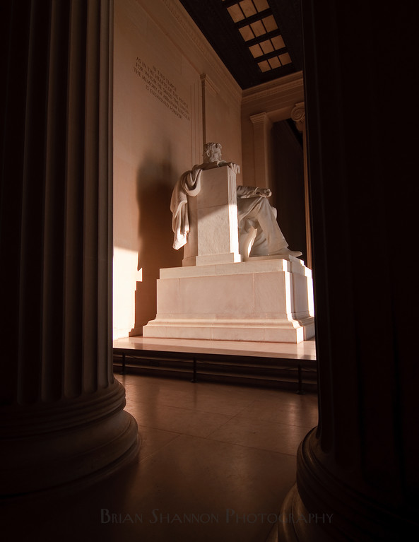 President Lincoln statue by Brian Shannon