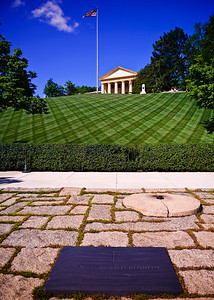 John F. Kennedy grave site by Brian Shannon
